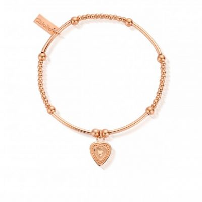 Chlobo Cute Mini Decorated Heart Bracelet