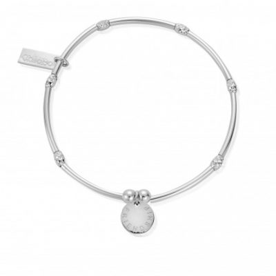 Chlobo Mini Noodle Sparkle Rice Friendship Disc Bracelet