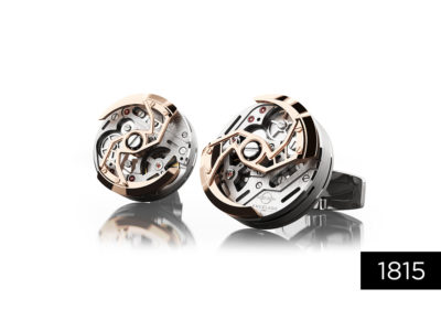 Encelade Cufflinks – 1815 Rotor Collection