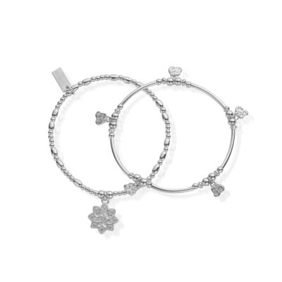 Chlobo Cherabella Mantra Set of Two Bracelets