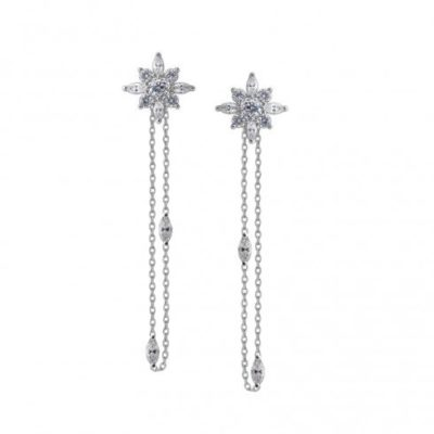 Carat Camelia Drop Earrings