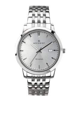 Accurist Men's Classic Stainless Steel Watch