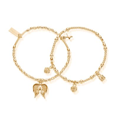 Chlobo Ariella Gold Starry Angel Set Of Two