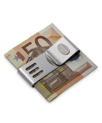 Dalvey Stainless Steel Double Money Clip