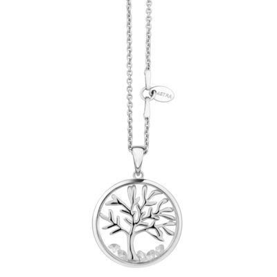Astra 'Tree of Life' Silver Pendant -20mm