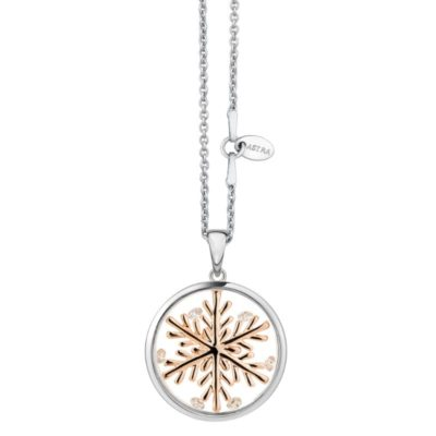 Astra 'Lucky Snowflake' Pendant -16mm
