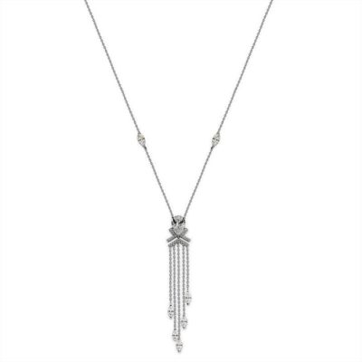 Carat Silver Naya Drop Necklace