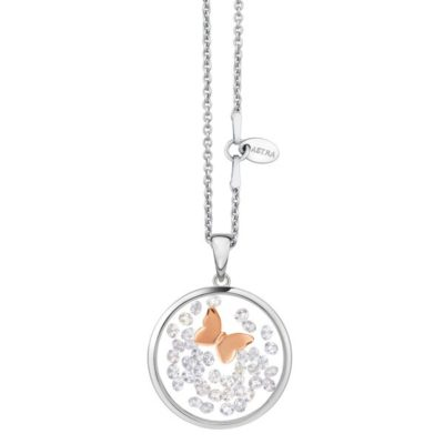 Astra 'Butterfly' Rose Pendant- 20mm