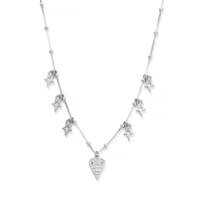 Chlobo Sterling Silver Seven Days Of Luck Necklace
