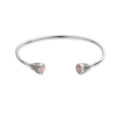 Chlobo Sterling Silver Pure Luck Bangle