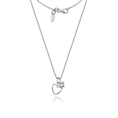 Dollie Alicia Double Heart Necklace